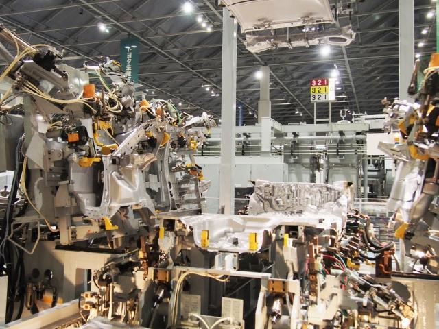 車の製造機械