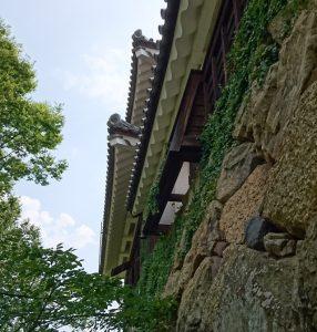 上田城跡公園の櫓