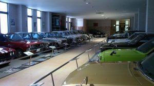 自動車博物館ファミリーカー展示
