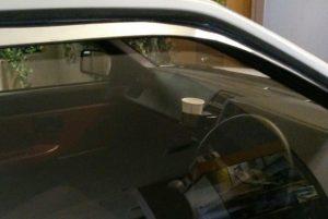 秋名のハチロク車内